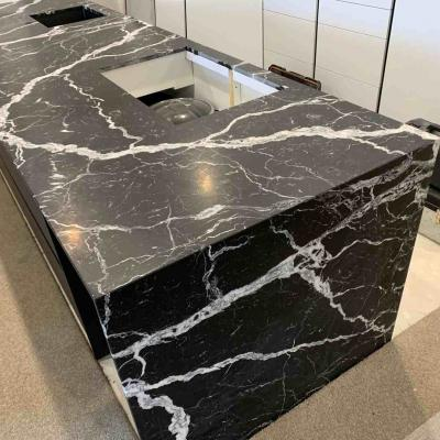 Black And White Granite Kitchen Benchtop